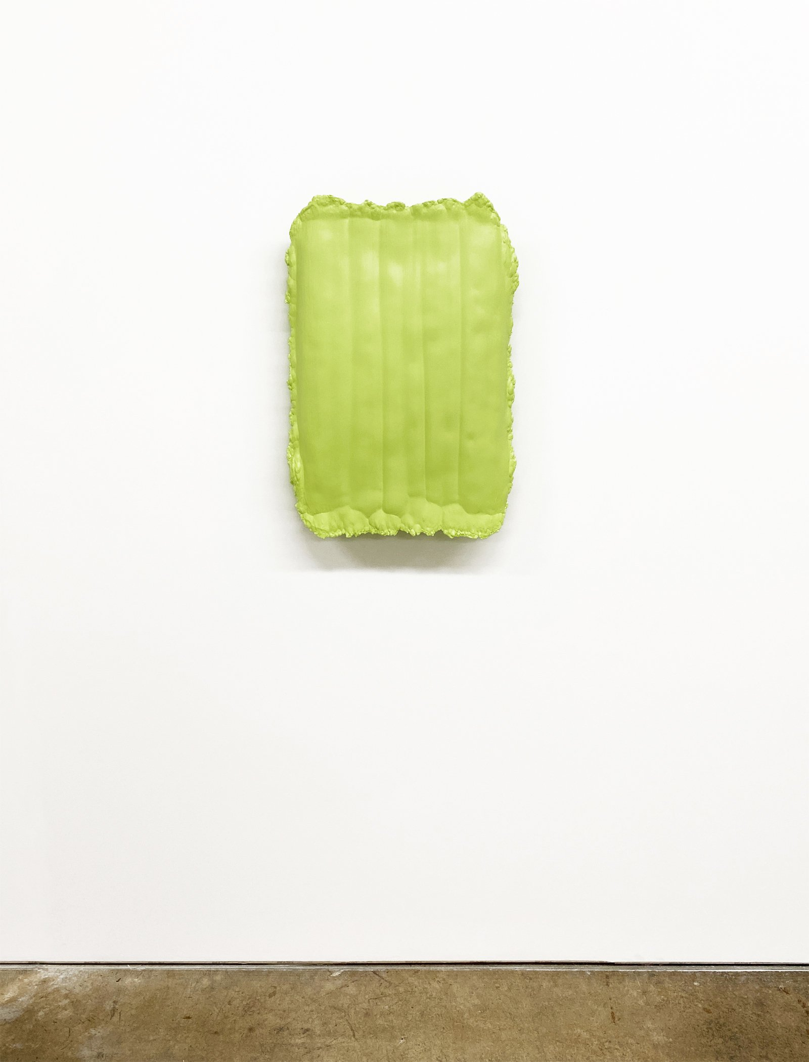 Lite Green Cast Painting